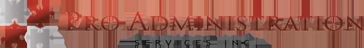 Pro Administration Services Inc. Retina Logo